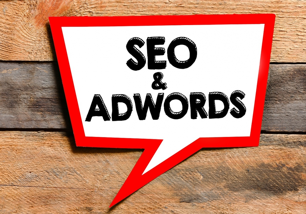Seo and Adwords text